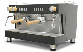 Barista - 2 Group - Wood & Black